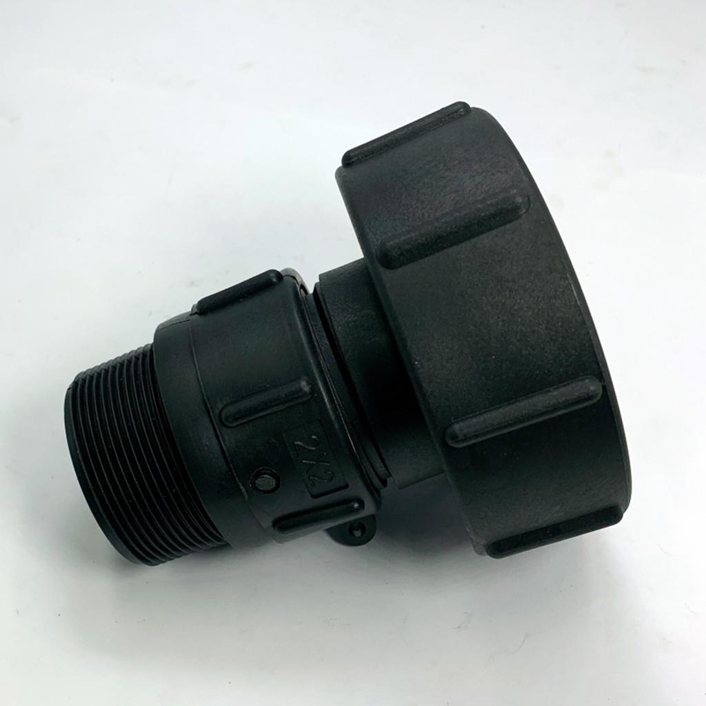 IBC-Water-Tank-Hose-Adapter-Garden-Water-Hose-Adapter-Fitting-Kit thumbnail 15