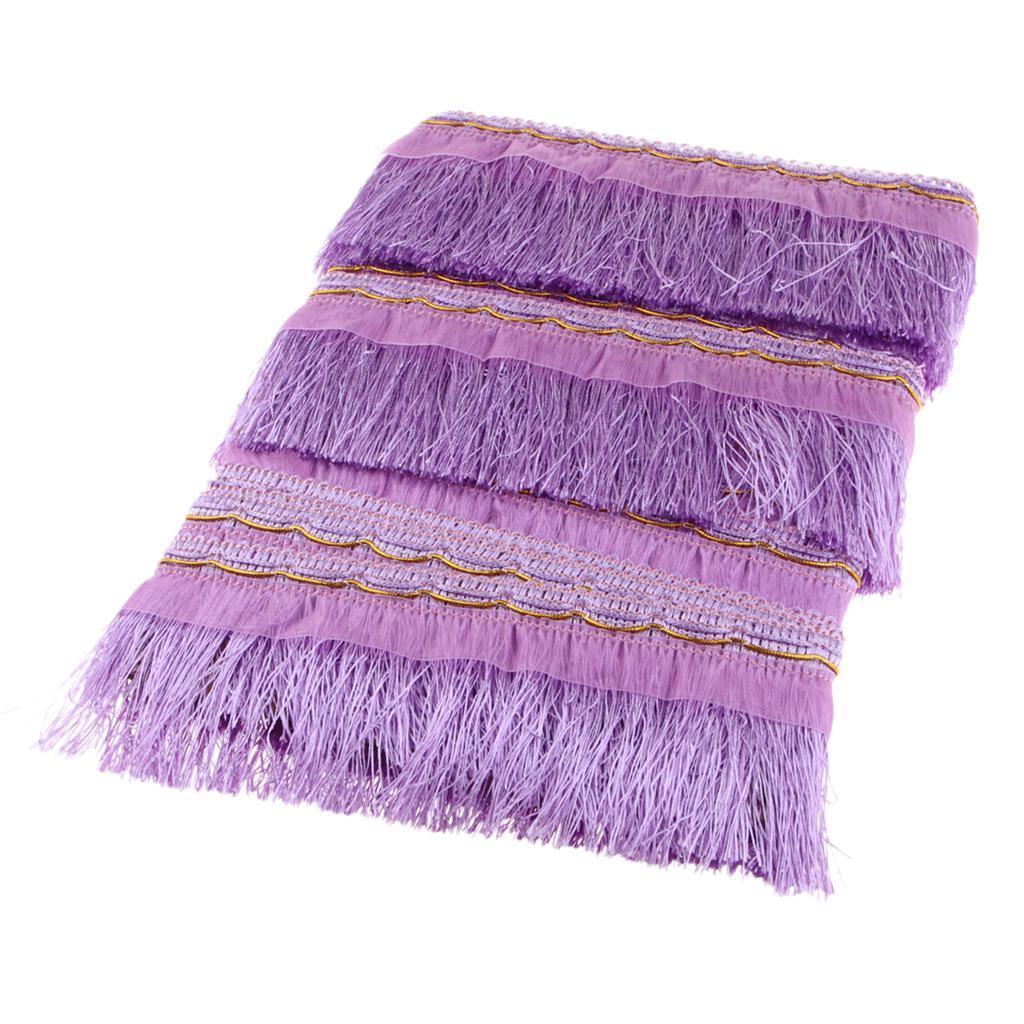 miniatura 21 - 1 rotolo di poliestere bordo nappa tappezzeria treccia trim tessuti per la casa