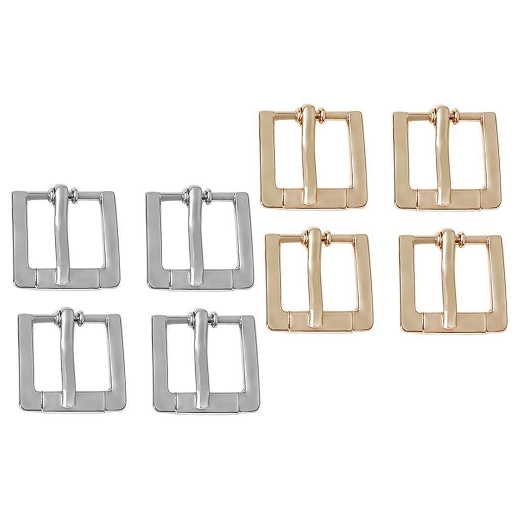 4x-Boucle-de-Sac-Accessoire-pour-Coupe-vent-de-Sac-Fabrication-de-Lanieres miniature 3