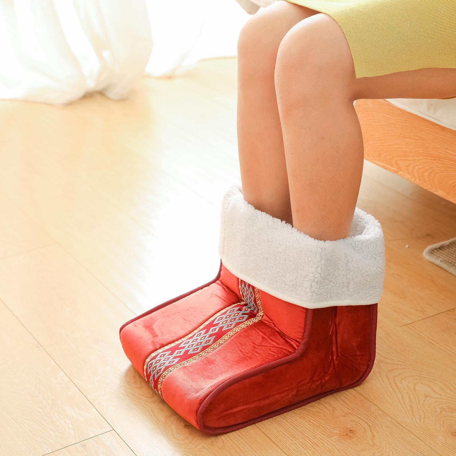 Scaldapiedi Elettrico Cuscino Termico Per Massaggio Ai Piedi Riscaldato Con Ebay
