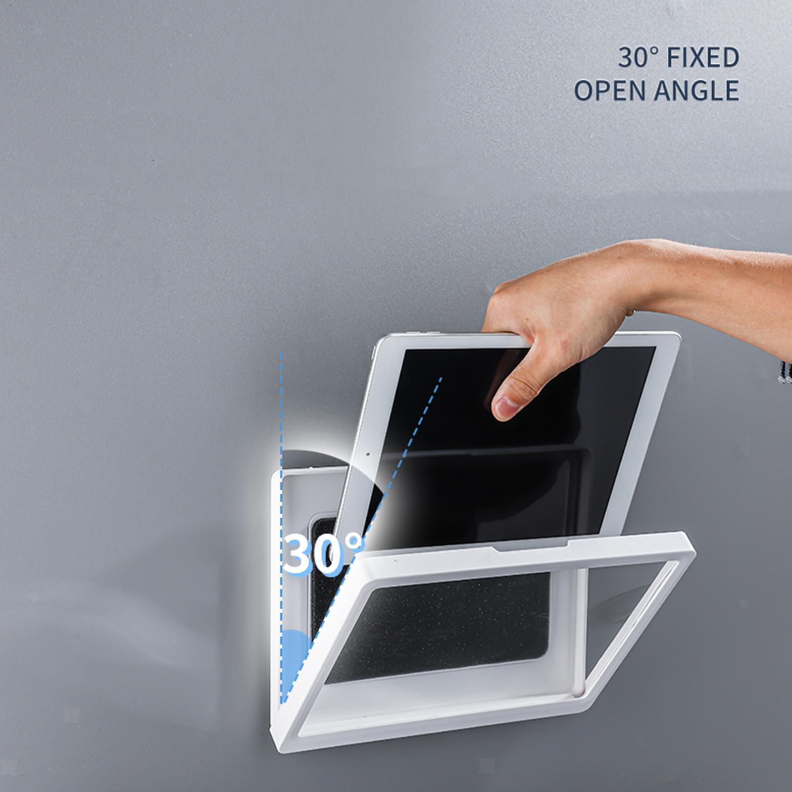 Indexbild 13 - Wand halterung Dusche Tablet Halter Badezimmer gehäuse Halterung Regal, Tablet