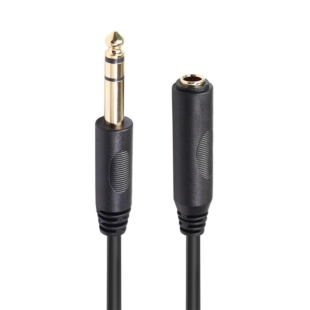 6 35 Headphone Extension Cable Trs 1  4 U0026quot  Male To Female
