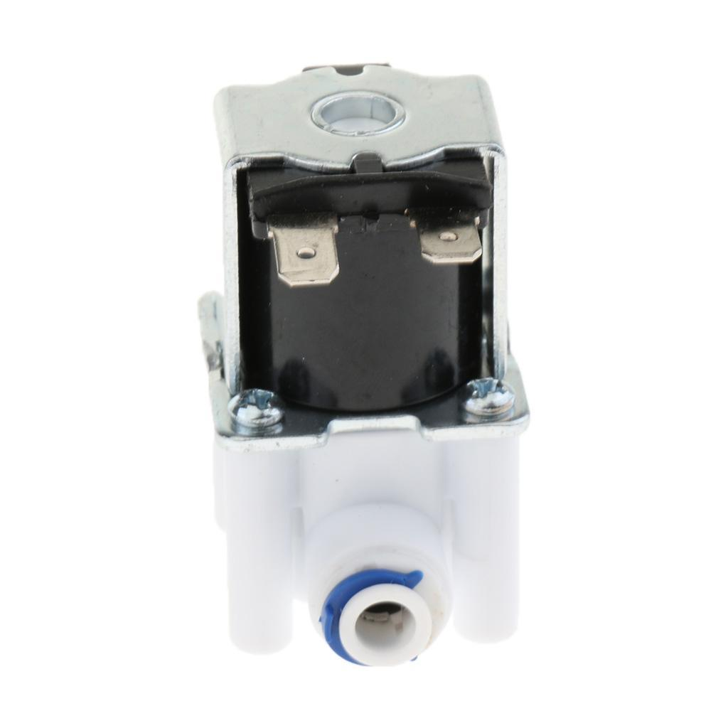"""1//4/"""" 12V Inlet Feed Water Solenoid Valve Normally Closed for RO System"""