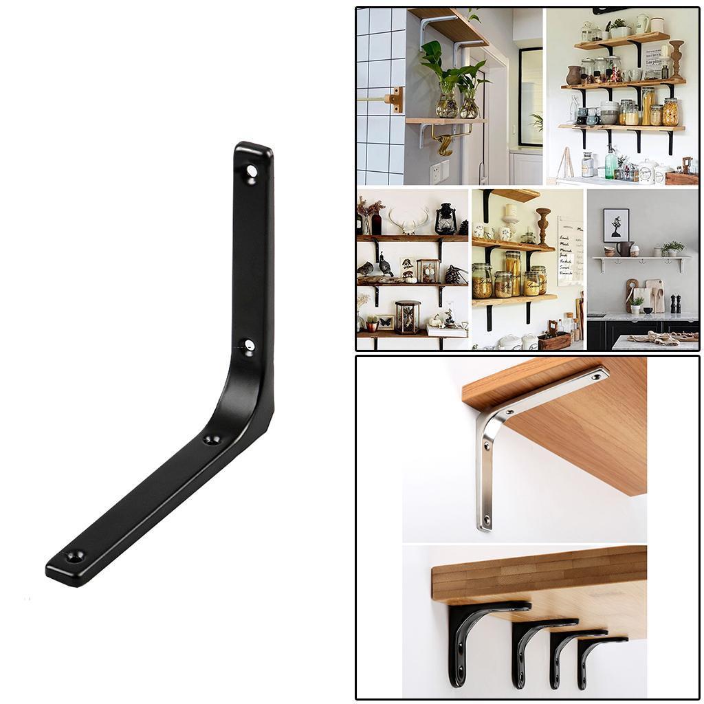 thumbnail 47 - Shelf   Floating Shelves Tripod Triangle Shelf Brackets for Bathroom
