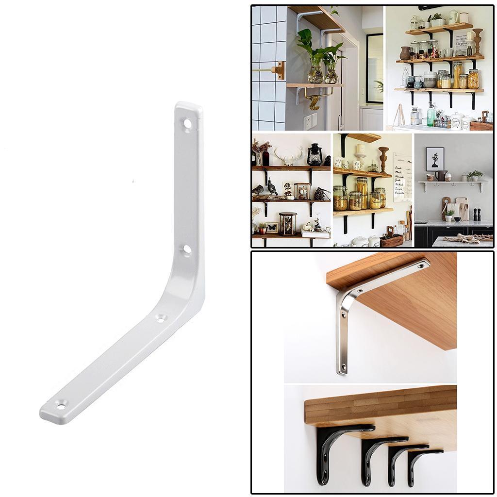 thumbnail 124 - Shelf   Floating Shelves Tripod Triangle Shelf Brackets for Bathroom