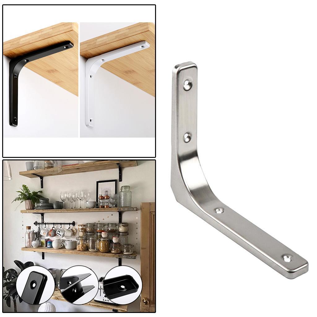thumbnail 213 - Shelf   Floating Shelves Tripod Triangle Shelf Brackets for Bathroom