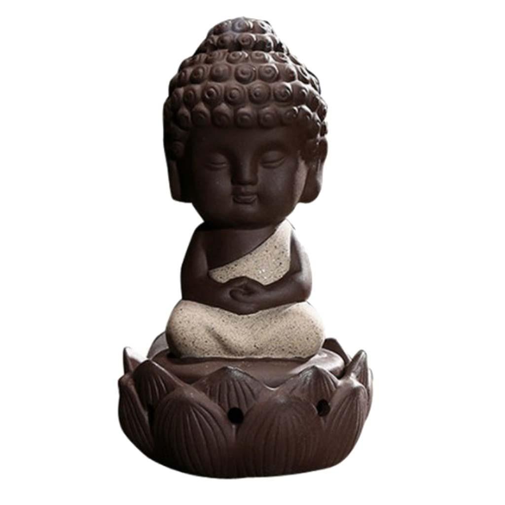 Buddhismus-Moenche-Raeuchergefaess-Keramik-Stick-Kegel-Halter-Rueckfluss Indexbild 10