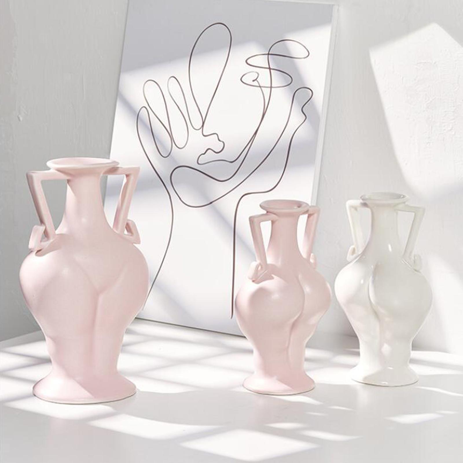 Indexbild 19 - Blumenvase Keramik Blumentöpfe Trockenblumenhalter Pflanzenvasen Wohnkultur