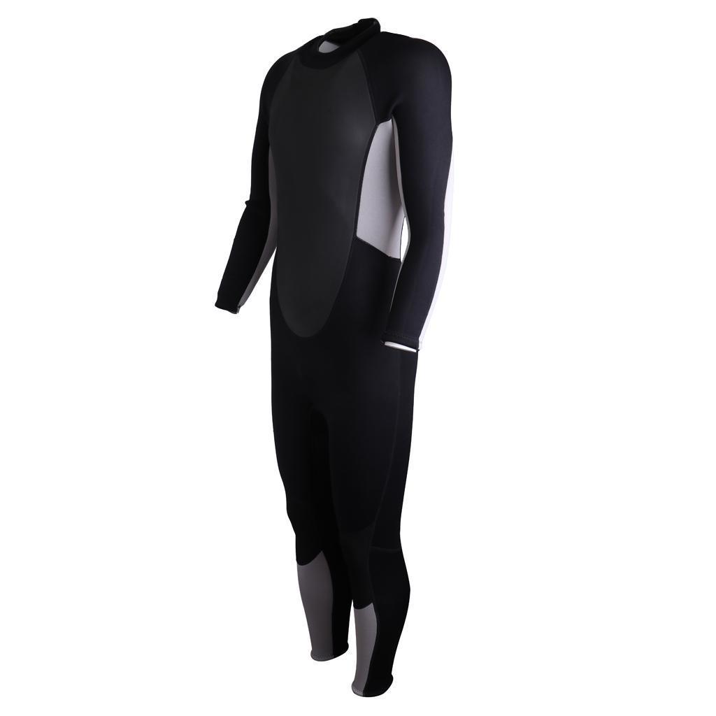 Hisea Neoprenanzug lang Pure 3mm Herren Surfanzug Schwimmanzug Tauchanzug