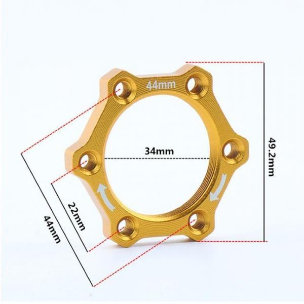 Bike Threaded Front//Rear Aluminium Alloy Disc Brake Rotor Flange Adapter