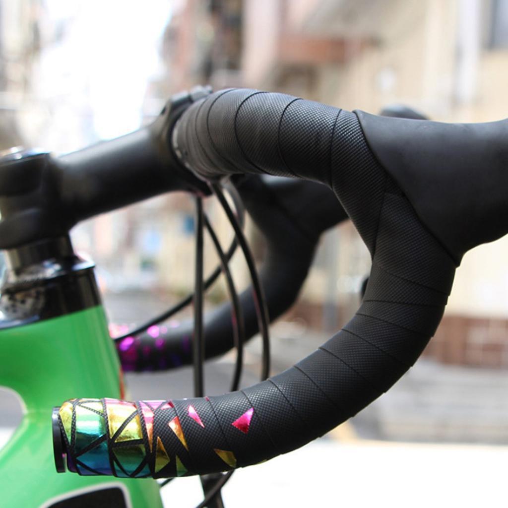 2x-Non-slip-Tape-Road-Bike-Handlebar-Tape-Bicycle-Drop-Bar-Wrap-Outdoor-Sports thumbnail 14