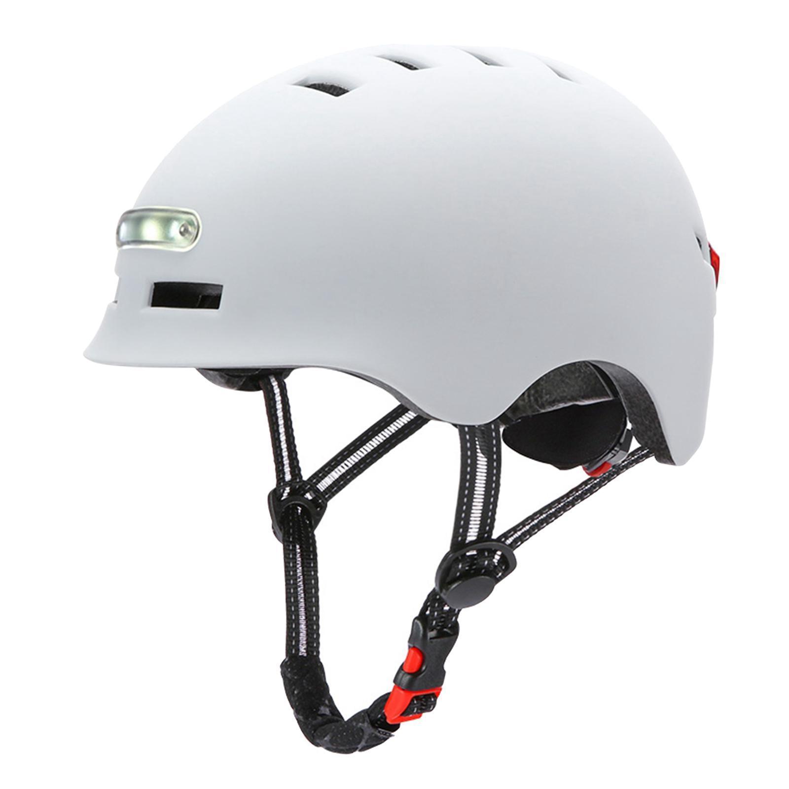 Casco-da-ciclismo-per-skateboard-Casco-da-bici-per-pendolari-con-scooter-da miniatura 7