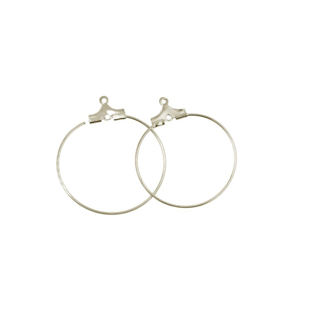 SALE 20pcs NP-1800 Ear wire Oval Mordern Hoop Earrings Long Earwire Wire earrings Gold Plated