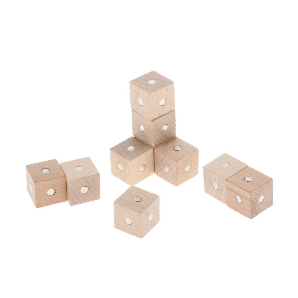 Kids-Science-Teaching-Aids-Children-Early-Education-Wooden-Building-Blocks thumbnail 15