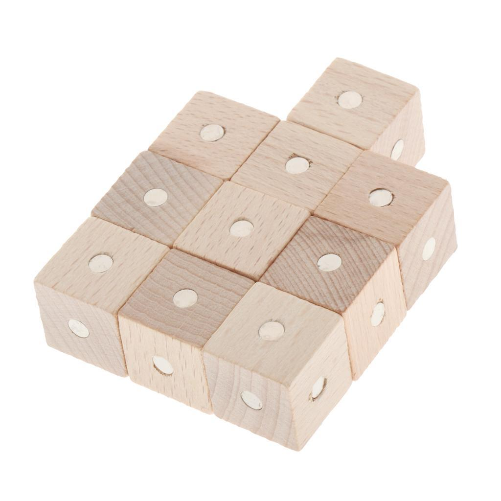 Kids-Science-Teaching-Aids-Children-Early-Education-Wooden-Building-Blocks thumbnail 16