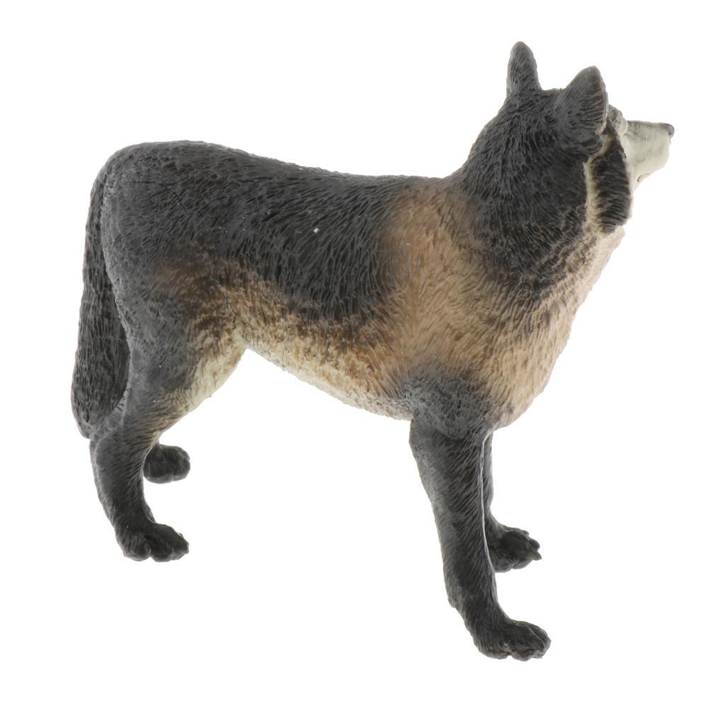 Realistic Plastic Land Animals Pet Figures Model for Boys and Girls DIY Toy