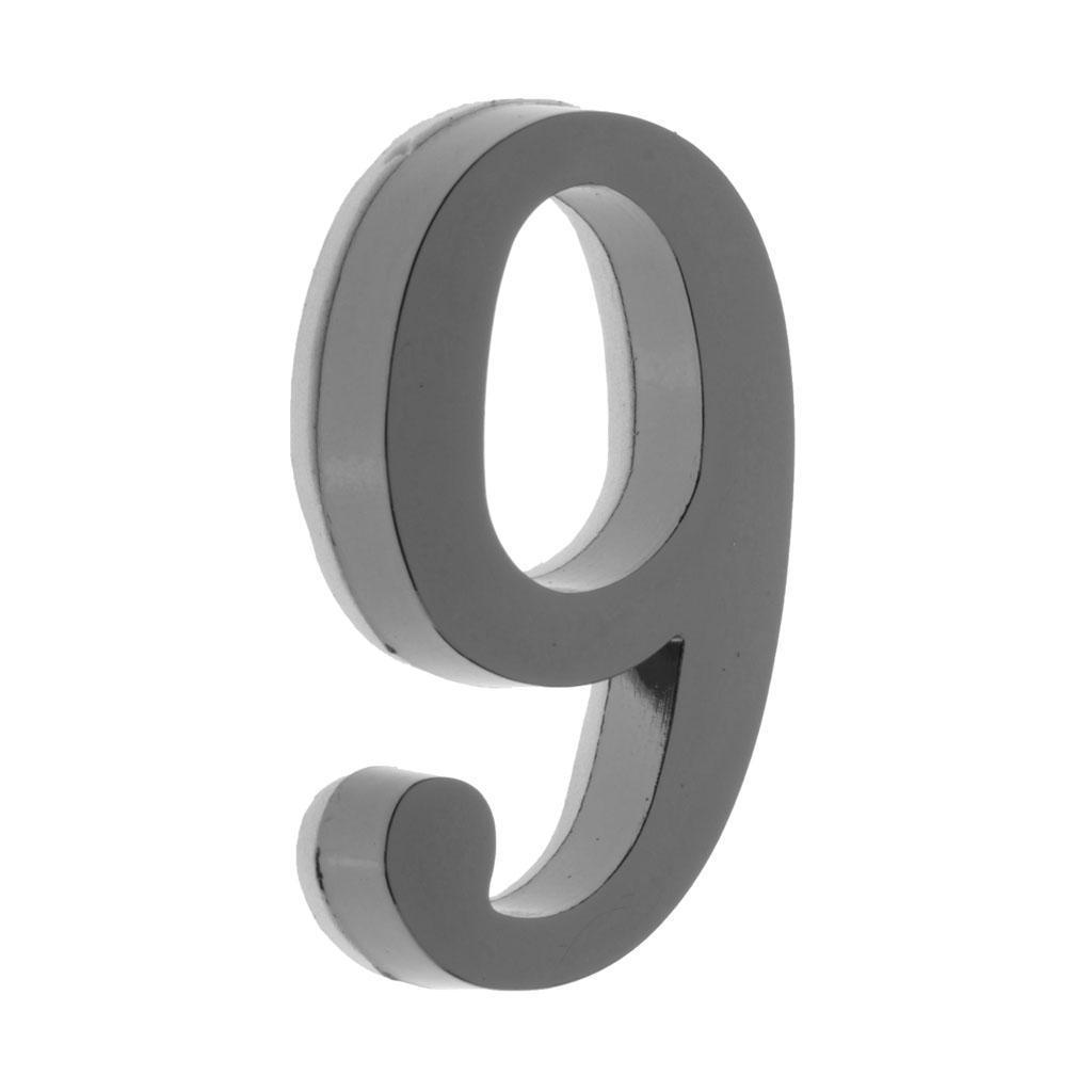 Metal-House-Door-Plaque-Hotel-Gate-Office-Dormitory-Number-Sign-Sticker miniature 27