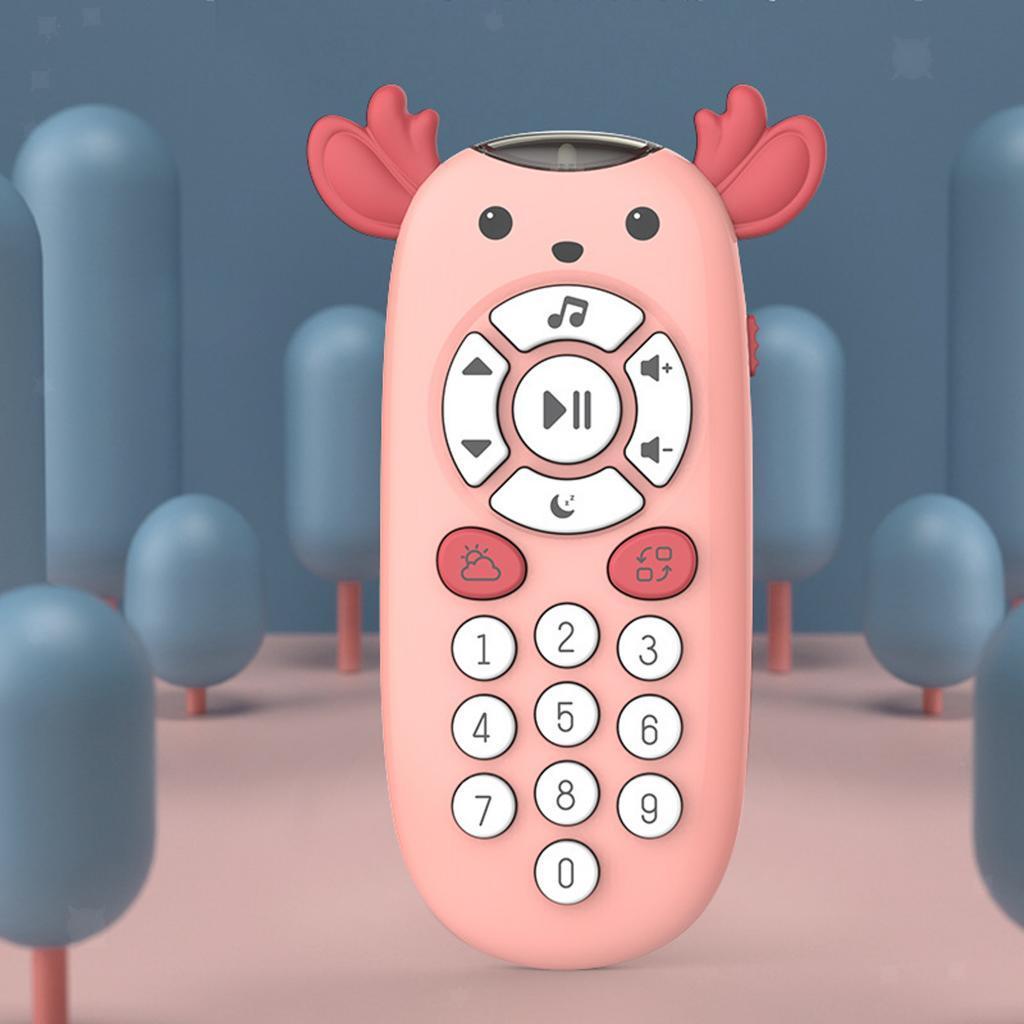 miniatura 3 - TV Telecomando Luce Per Bambini Musica Suono Attività Di Apprendimento