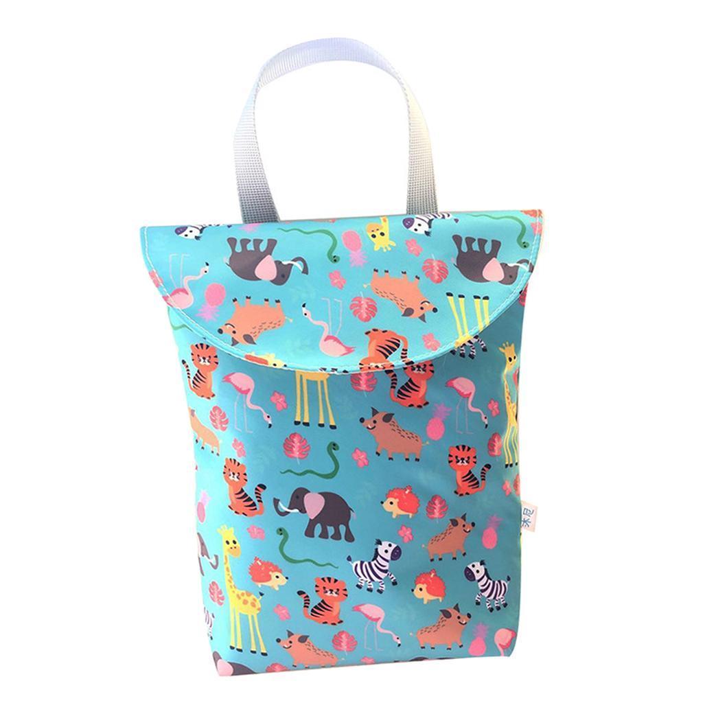 Baby-Diaper-Bag-Organizer-Fashion-Prints-Mummy-Storage-Bag-Outdoor-Reusable miniature 62