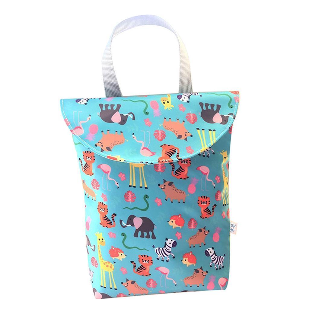 Baby-Diaper-Bag-Organizer-Fashion-Prints-Mummy-Storage-Bag-Outdoor-Reusable miniature 63