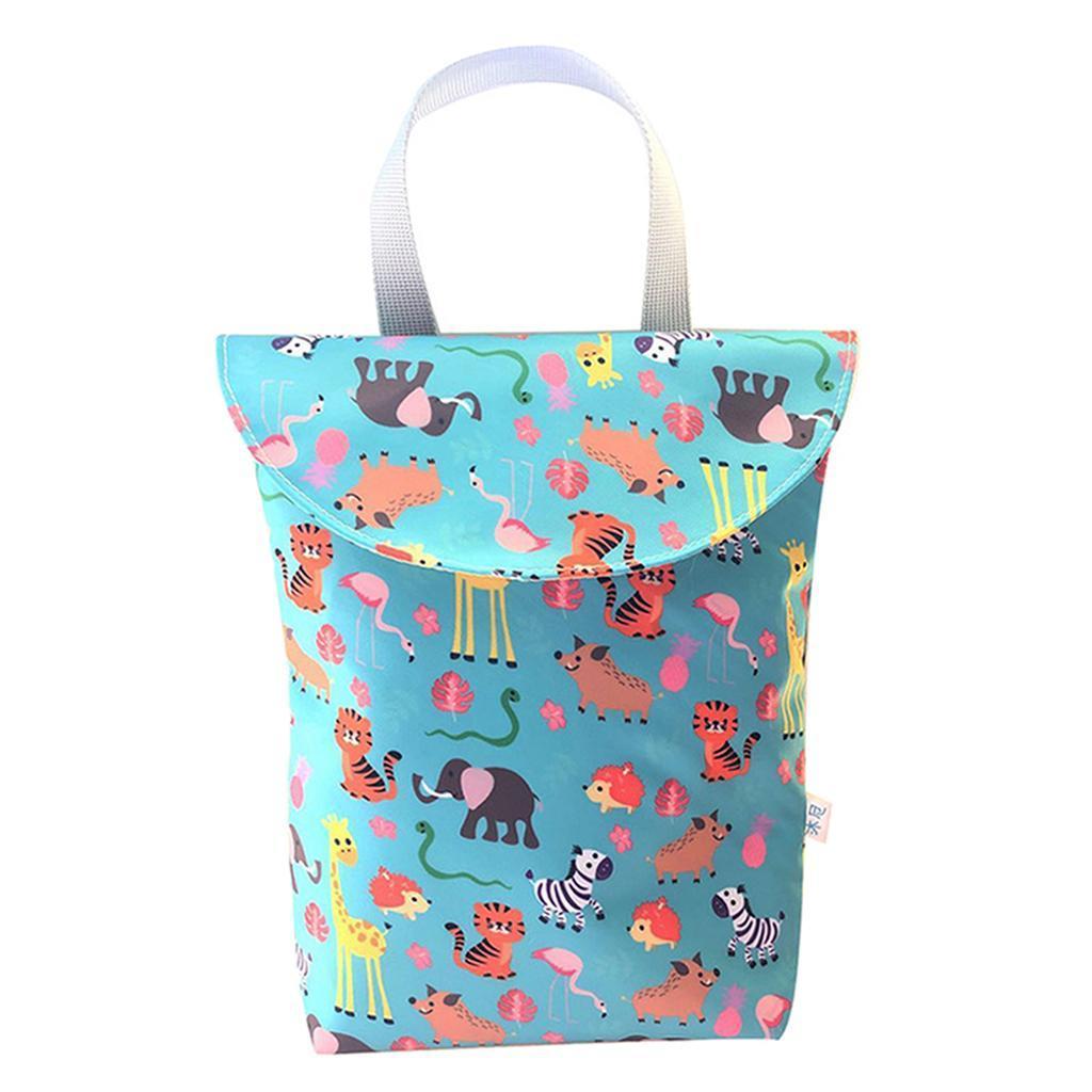 Baby-Diaper-Bag-Organizer-Fashion-Prints-Mummy-Storage-Bag-Outdoor-Reusable miniature 64