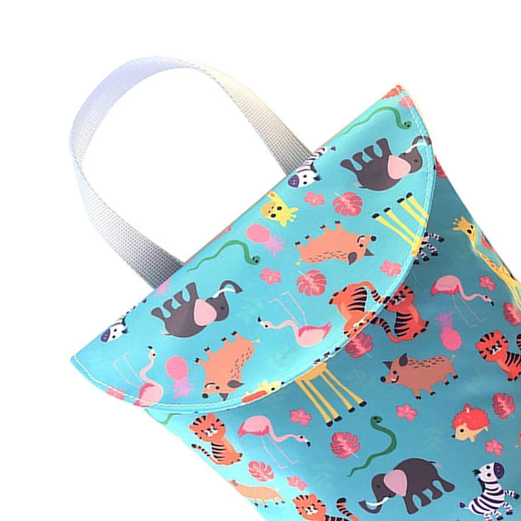 Baby-Diaper-Bag-Organizer-Fashion-Prints-Mummy-Storage-Bag-Outdoor-Reusable miniature 65