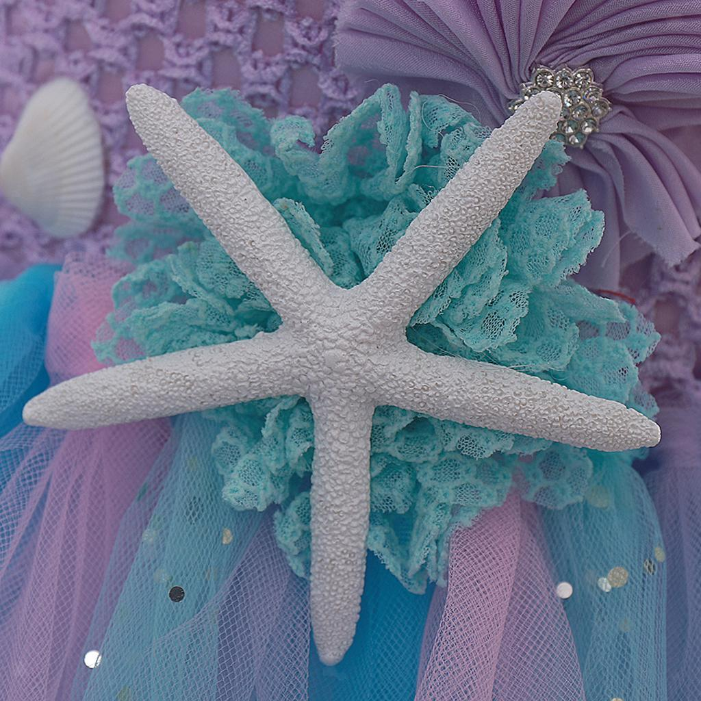 thumbnail 11 - Little Girls Layered Princess Costume Dress up with Hairband Accessories