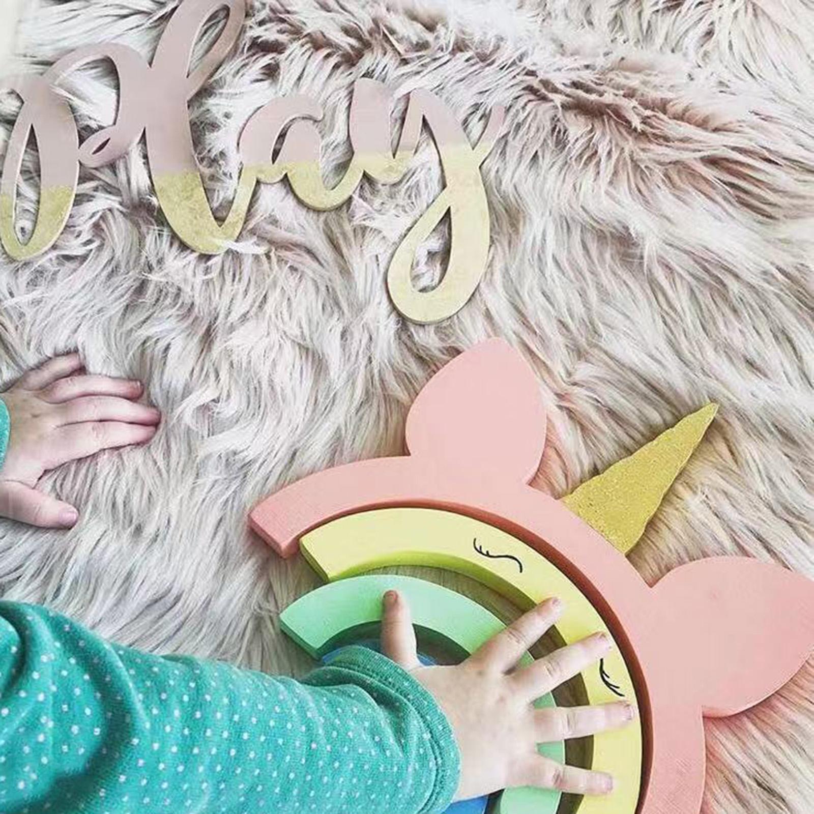 miniature 14 - Blocs de construction d'empilage coloré en bois créatif jouet de bébé Montes
