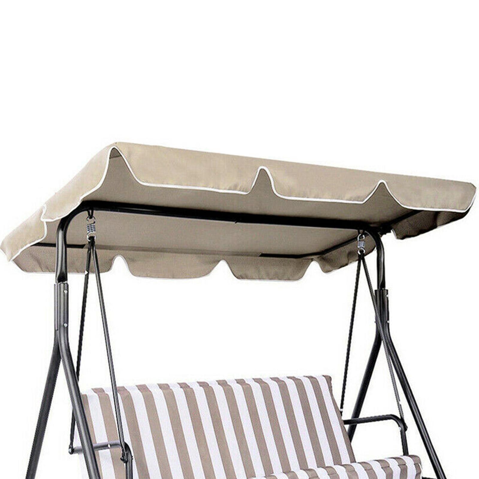 miniatura 22 - Copertura superiore della sedia a dondolo da giardino per esterni con