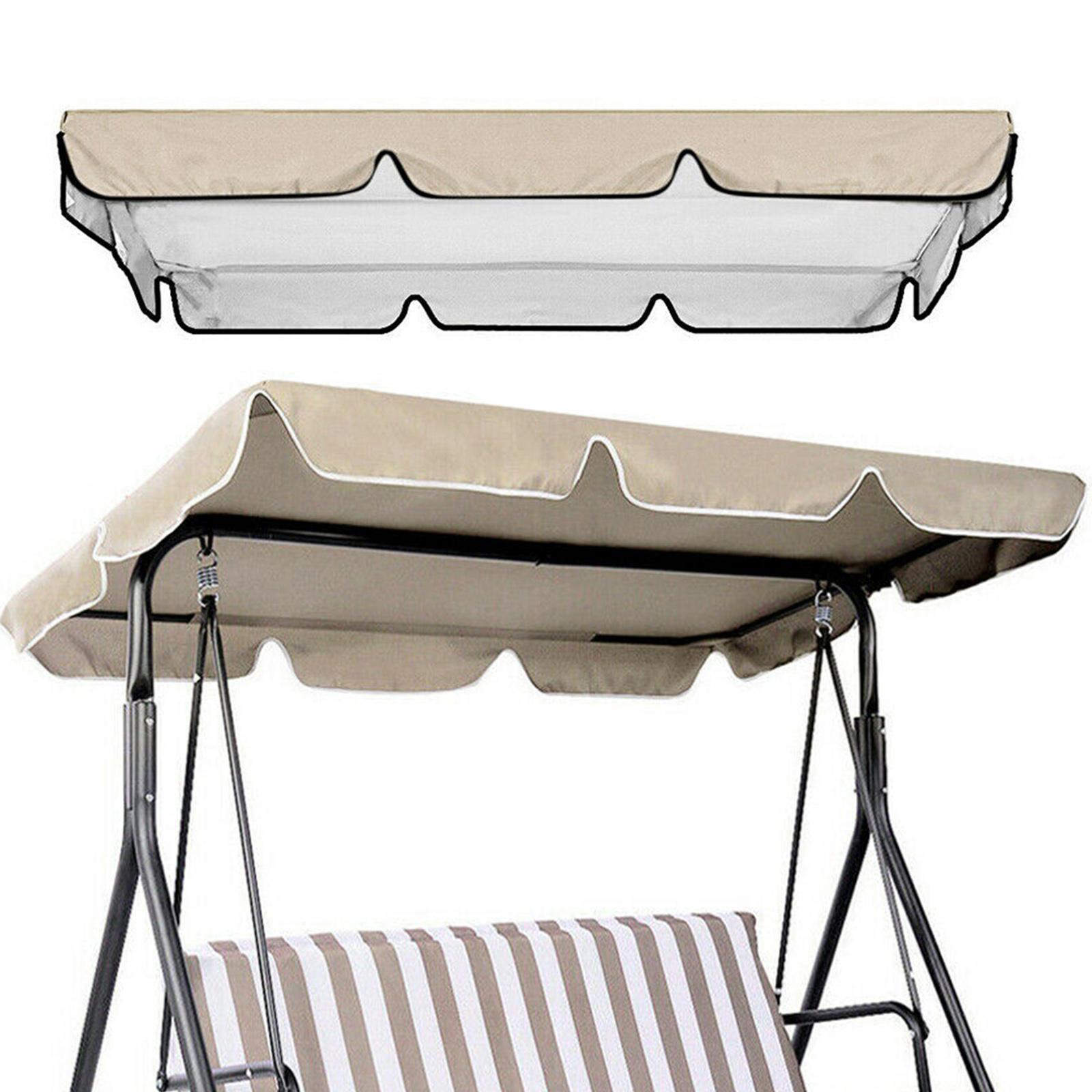 miniatura 26 - Copertura superiore della sedia a dondolo da giardino per esterni con