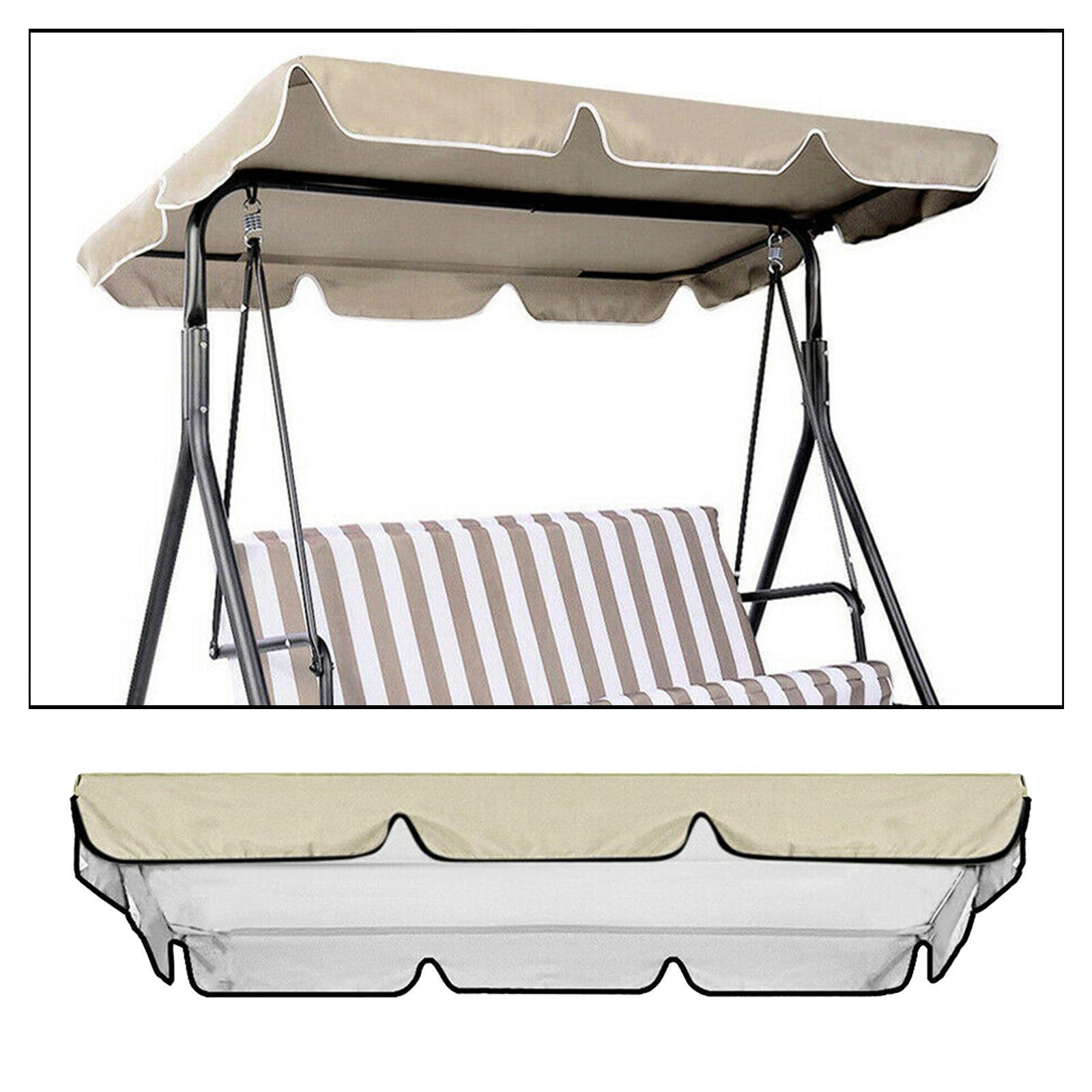 miniatura 25 - Copertura superiore della sedia a dondolo da giardino per esterni con
