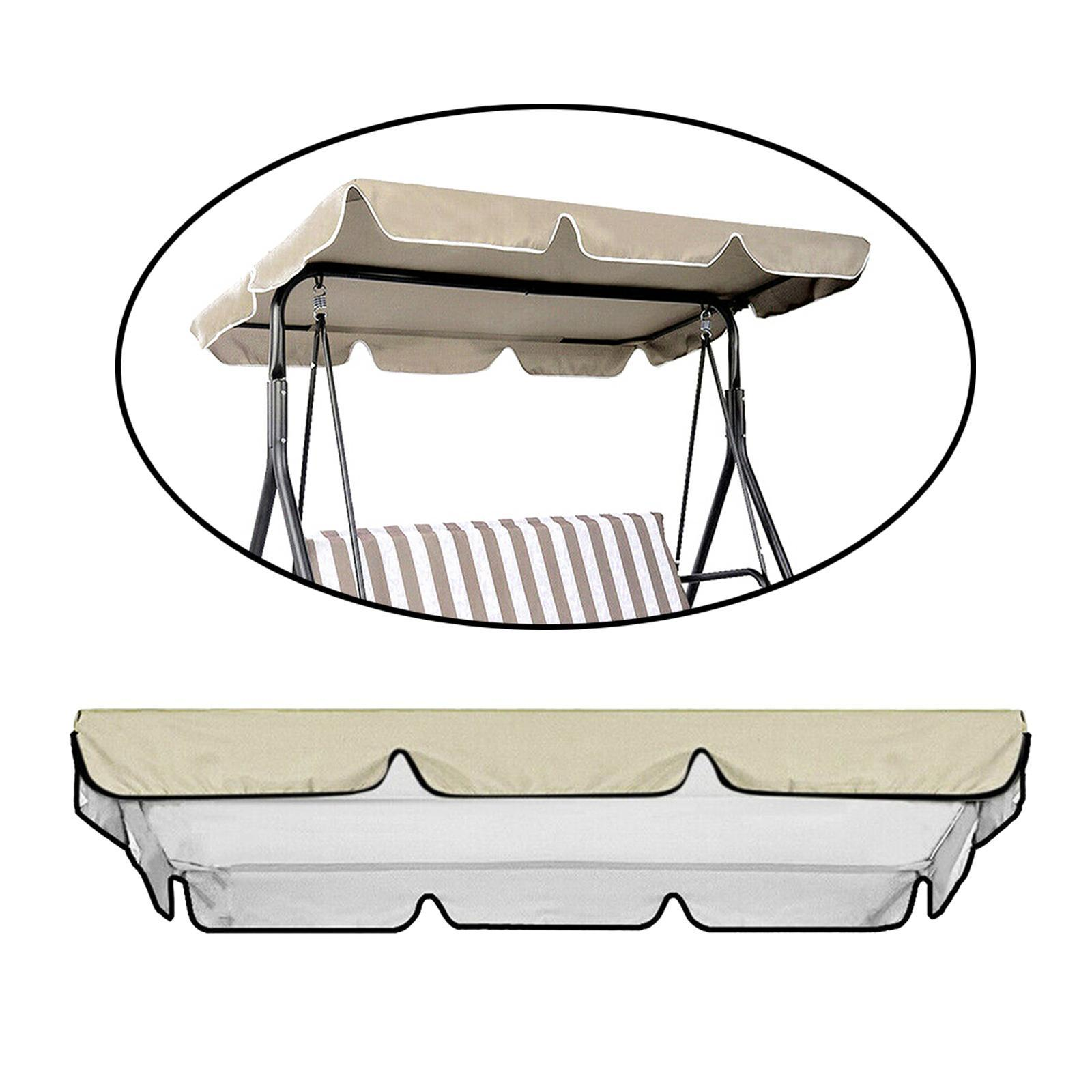 miniatura 21 - Copertura superiore della sedia a dondolo da giardino per esterni con
