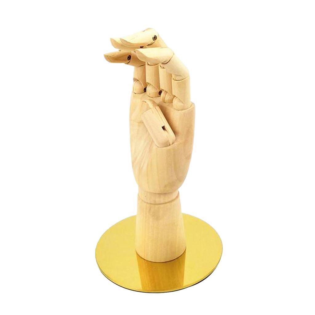 Modello-Manichino-Flessibile-A-Mano-Per-La-Visualizzazione-Di-Orologi-Con miniatura 4