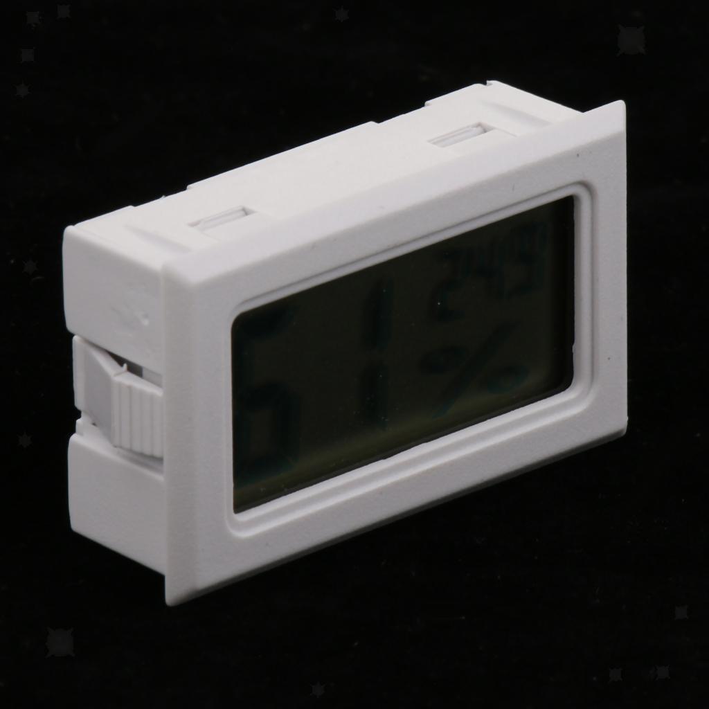 2pcs-DC1-5V-LCD-Termometro-Digitale-per-Acquario-Terrario-Serpente-Lucertola miniatura 7