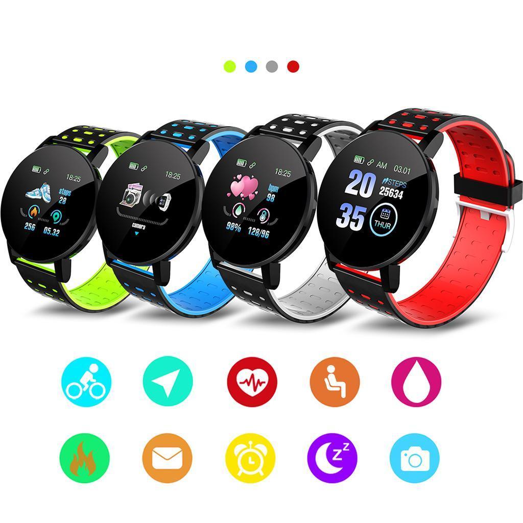 Indexbild 6 - Wasserdichter Bluetooth 4.0 Smart Watch Fitness Tracker Mate für iOS Android
