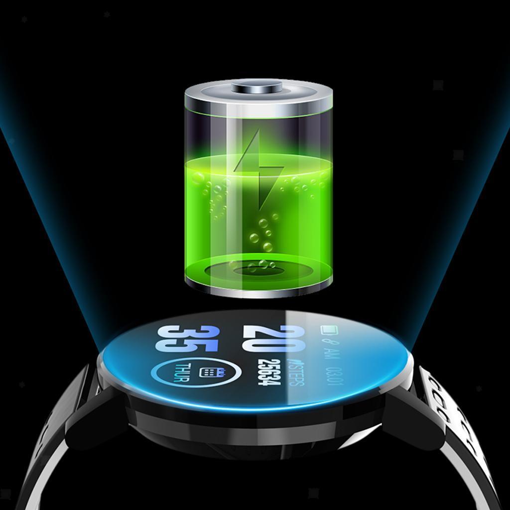 Indexbild 7 - Wasserdichter Bluetooth 4.0 Smart Watch Fitness Tracker Mate für iOS Android