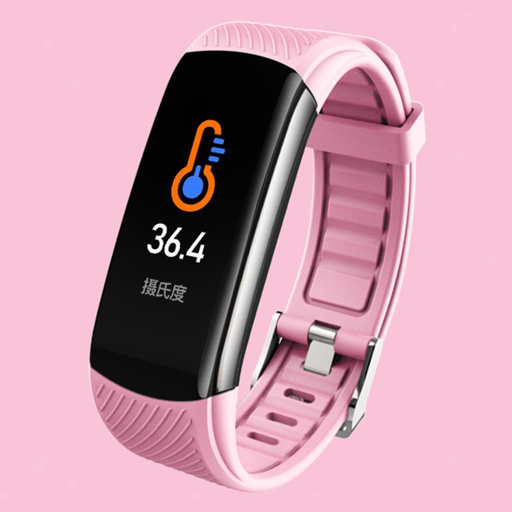 Indexbild 12 - Smart Watch Temperaturmesser Herzfrequenzmesser Blutdruck Fitness Tracker