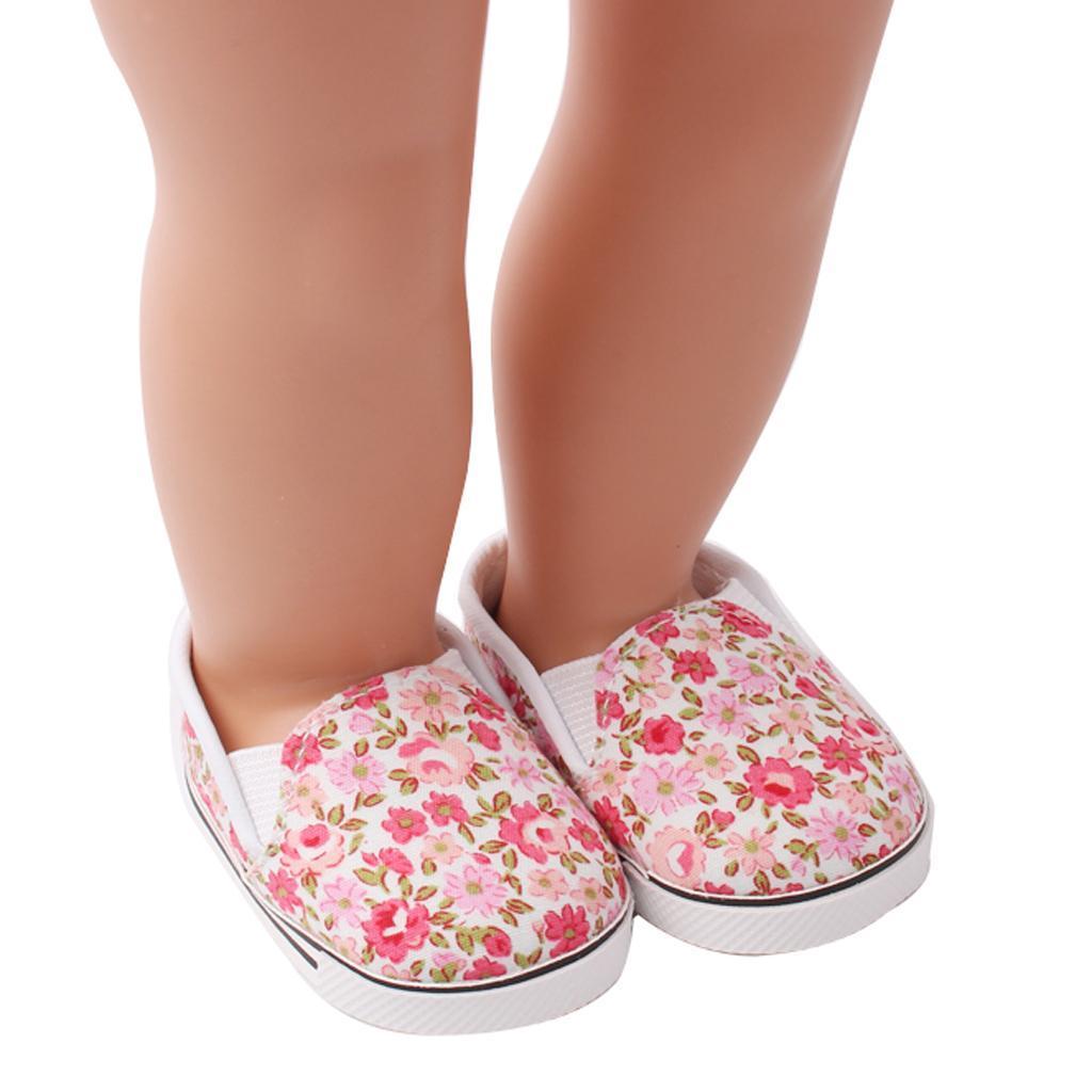 Adorable-Flats-Schuhe-Passt-Fuer-18-Zoll-American-Doll-Doll-Zubehoer Indexbild 3