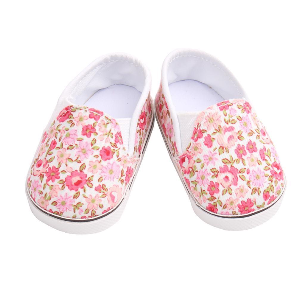 Adorable-Flats-Schuhe-Passt-Fuer-18-Zoll-American-Doll-Doll-Zubehoer Indexbild 4