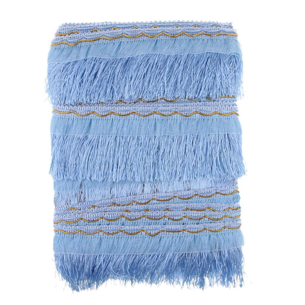 miniatura 25 - 1 rotolo di poliestere bordo nappa tappezzeria treccia trim tessuti per la casa