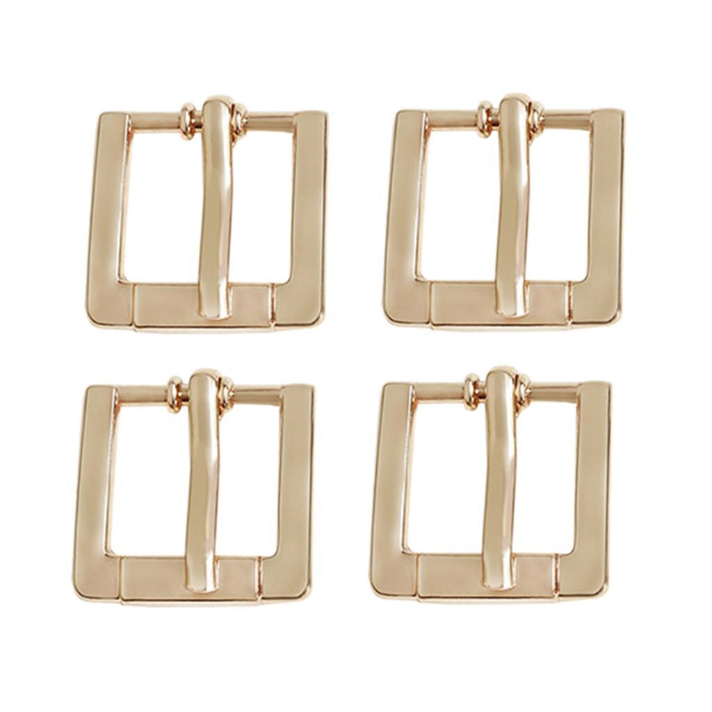 4x-Boucle-de-Sac-Accessoire-pour-Coupe-vent-de-Sac-Fabrication-de-Lanieres miniature 6