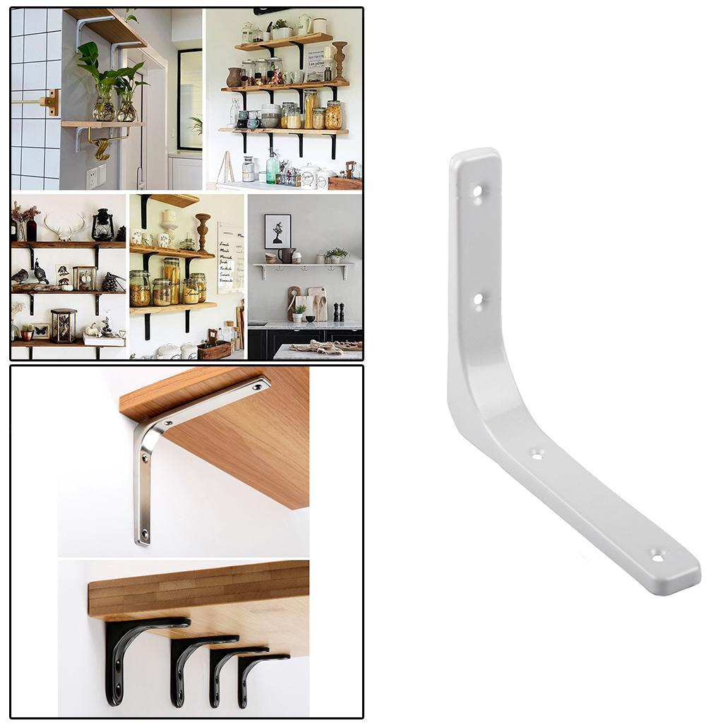 thumbnail 140 - Shelf   Floating Shelves Tripod Triangle Shelf Brackets for Bathroom