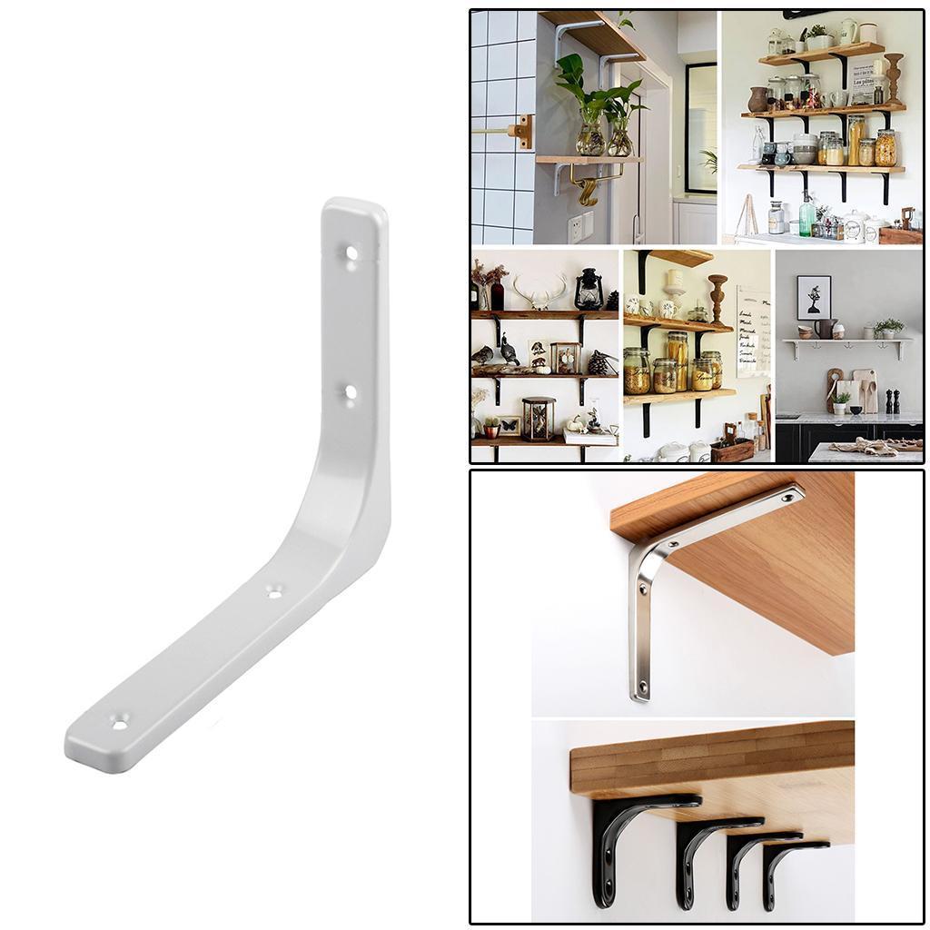 thumbnail 135 - Shelf   Floating Shelves Tripod Triangle Shelf Brackets for Bathroom