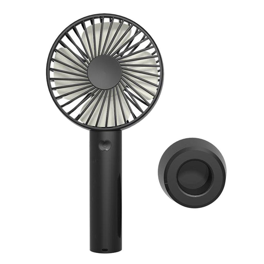 Mini-ventilateur-personnel-portatif-Rechargeable-a-piles-de-ventilateur-d-039-usb miniature 3