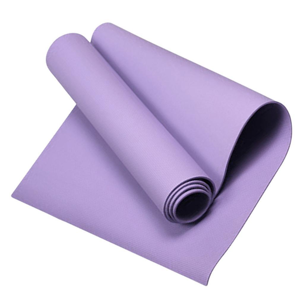 Anti-Slip Yoga Mat Lightweight Exercise Gym Dance Pad Cushion for Pilates Picnic