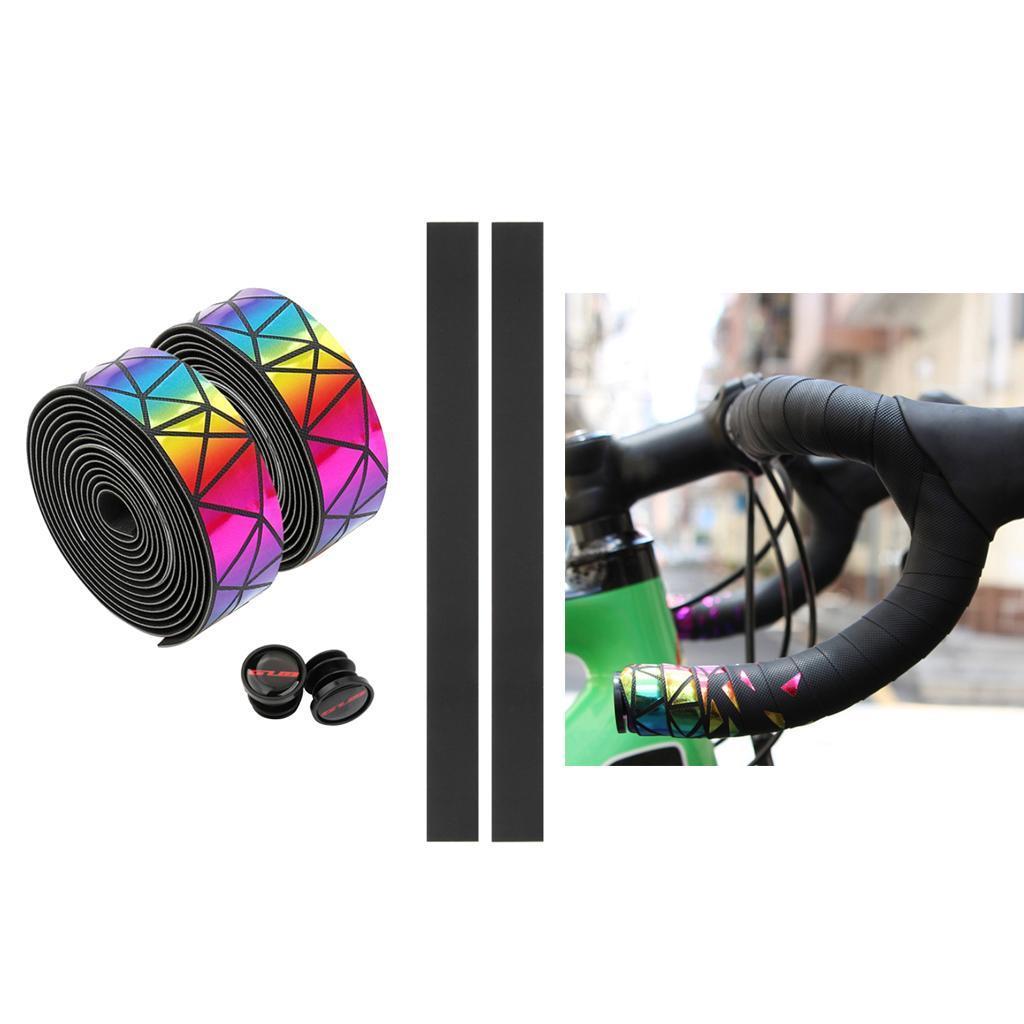 2x-Non-slip-Tape-Road-Bike-Handlebar-Tape-Bicycle-Drop-Bar-Wrap-Outdoor-Sports thumbnail 18