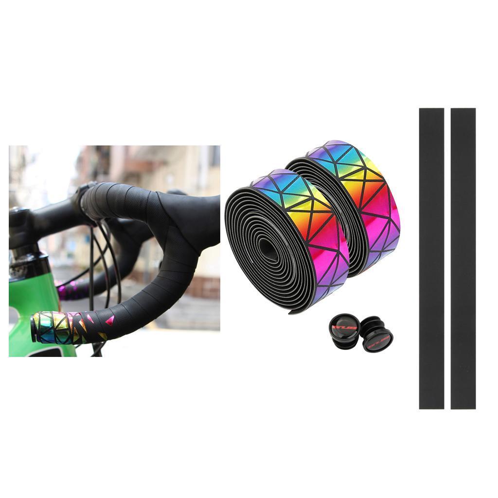 2x-Non-slip-Tape-Road-Bike-Handlebar-Tape-Bicycle-Drop-Bar-Wrap-Outdoor-Sports thumbnail 19