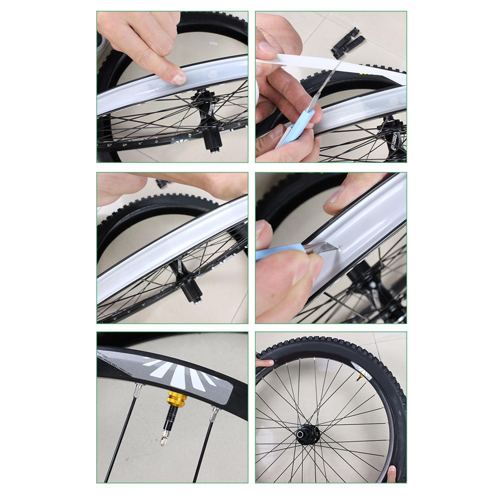 Tubeless Rim Tape No Tubes Bike Bicycle Leakproof Airtight Sealing Rim Strip