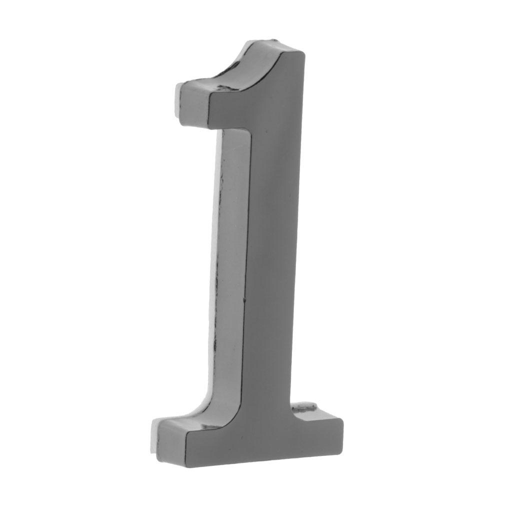Metal-House-Door-Plaque-Hotel-Gate-Office-Dormitory-Number-Sign-Sticker miniature 3