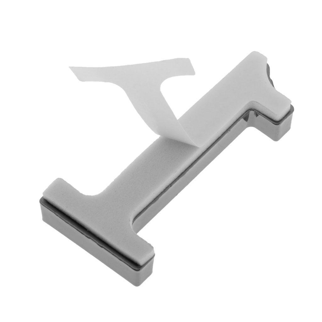 Metal-House-Door-Plaque-Hotel-Gate-Office-Dormitory-Number-Sign-Sticker miniature 4